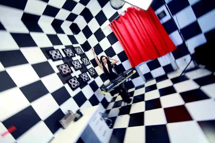 Music Videos and Black & White Escape Room