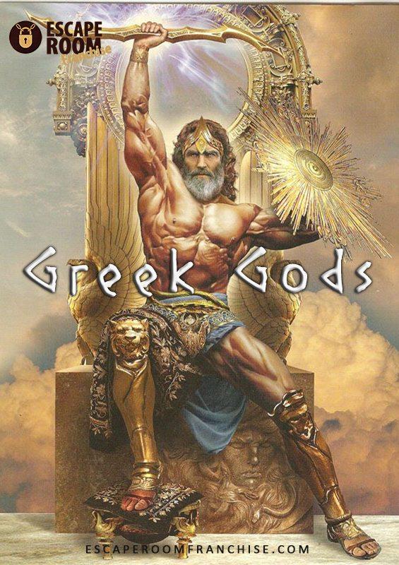 Greek Gods Escape Room | Escape Rooms Franchise