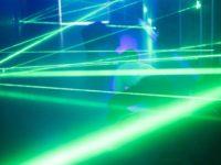 Laser maze inside 9
